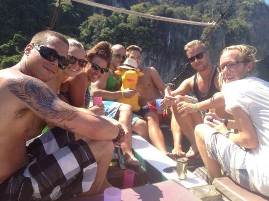 Stuart, me, Suzi, James, Fiona, Marcus, Eric, & Pierre