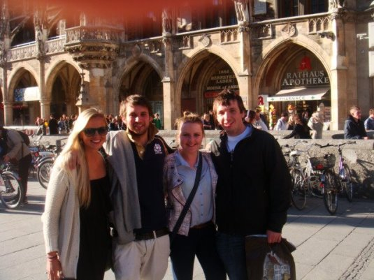 Me, Michael, Jenny, & Callum