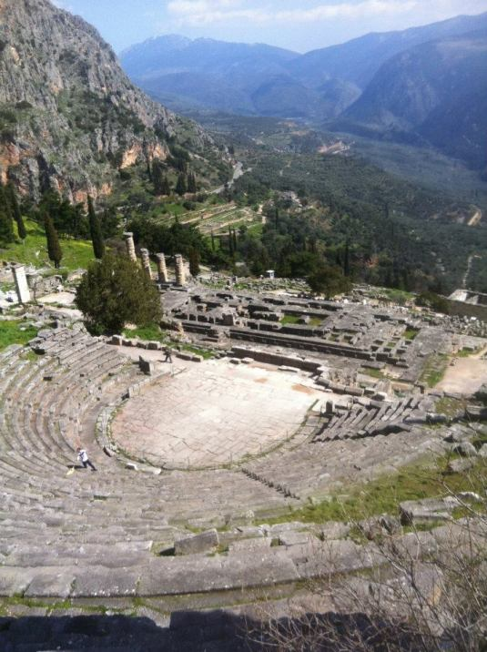 Ancient Delphi!