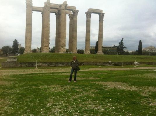 The Temple of Zeus!