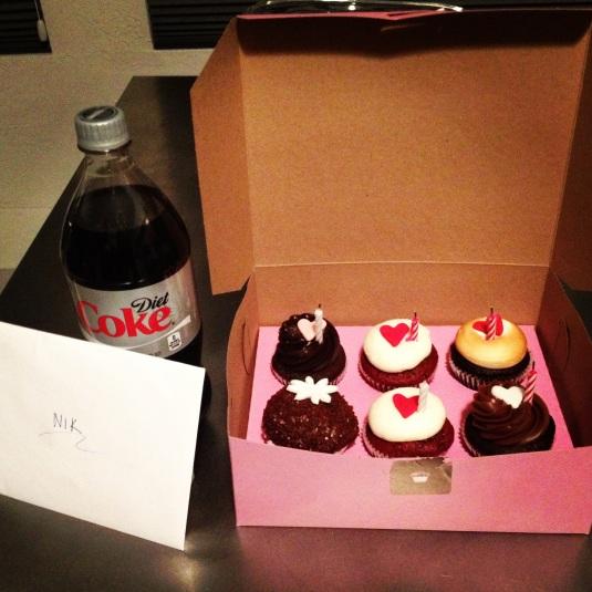 My cupcakes!